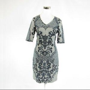 Baraschi light gray black dress 6